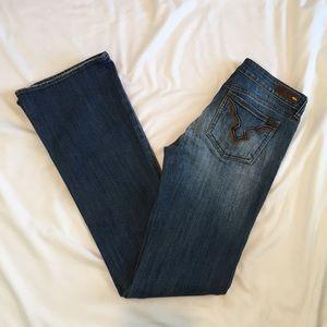 Buffalo David Bitton Jeans - Buffalo David Bitton Felow Mid Rise Flare Jeans 25